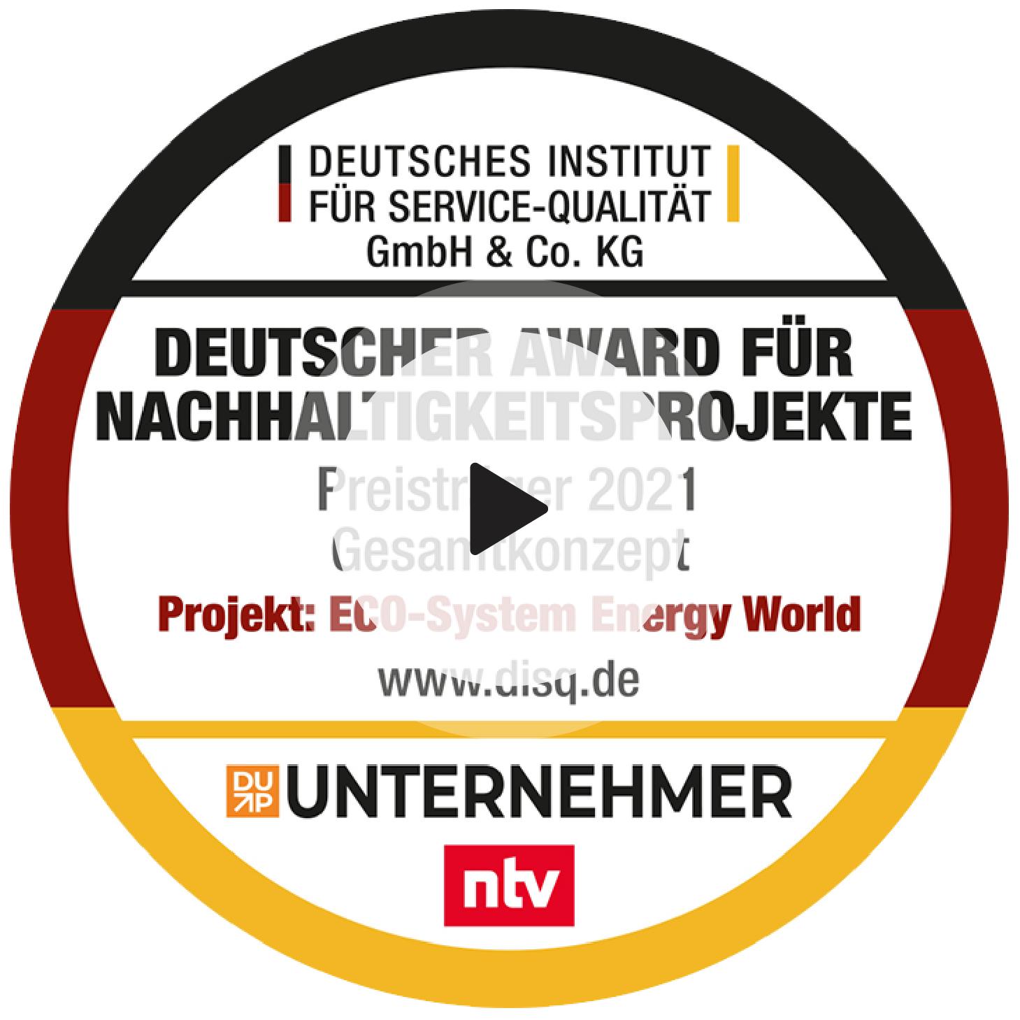 Award Nachhaltigkeitsprojekte